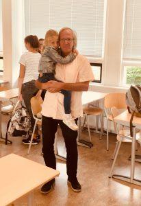 Aanwezig reunie Pascal College Arie de Jong